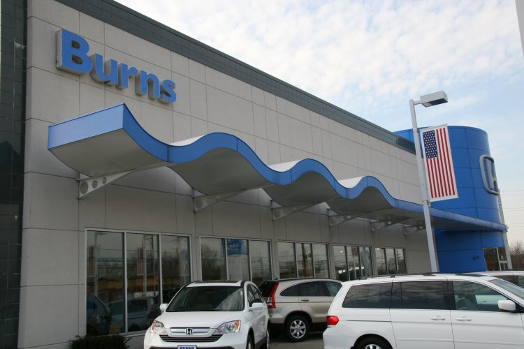 Burns Honda Canopy