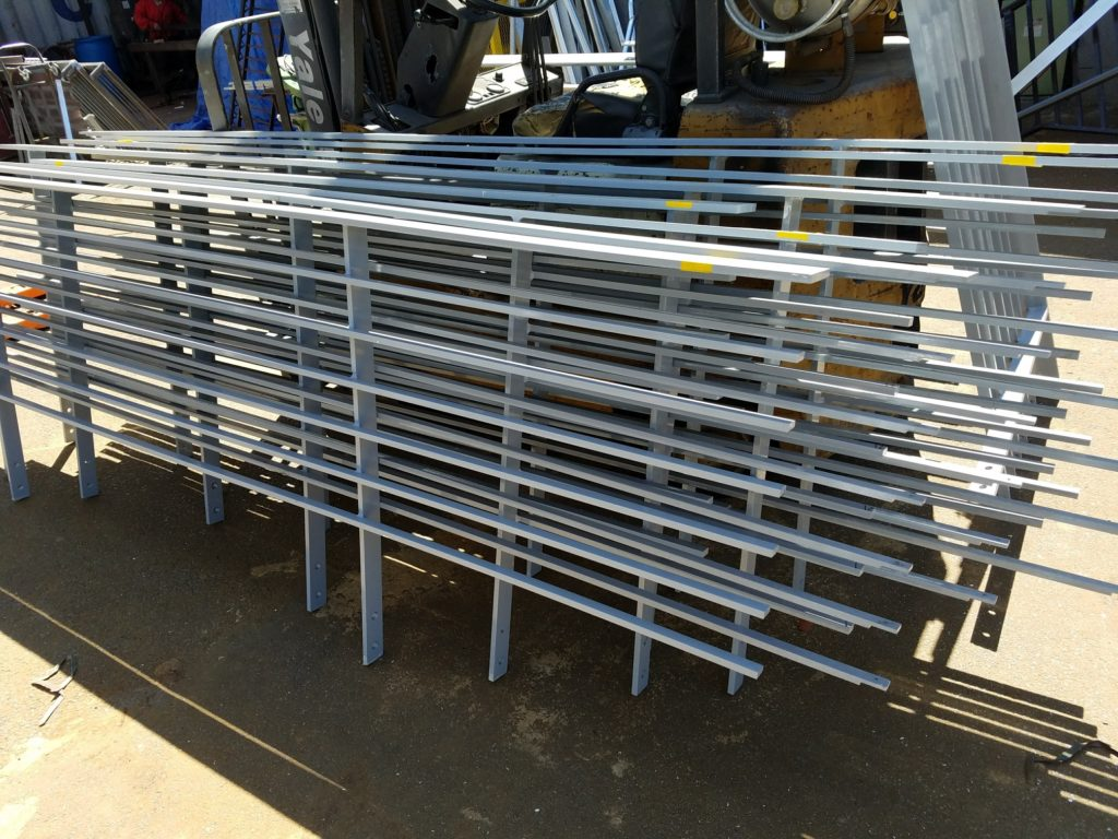 Production of Ornamental Aluminum Rails, 205 Race St Philadelphia PA