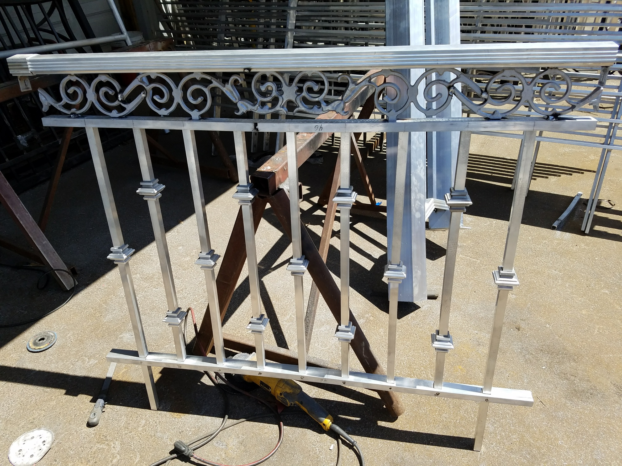 Ornamental Aluminum Rails